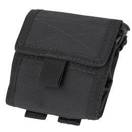ROLL-UP UTILITY / DUMP POUCH - BLACK