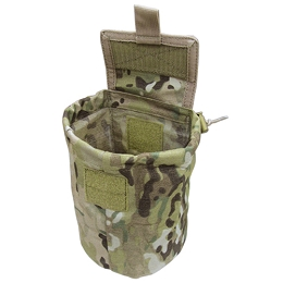 ROLL-UP UTILITY / DUMP POUCH - MULTICAM