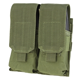 AR / M4 DOUBLE STACKER MAG POUCH - OLIVE DRAB