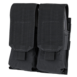 AR / M4 DOUBLE STACKER MAG POUCH - BLACK