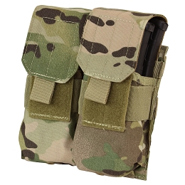 AR / M4 DOUBLE STACKER MAG POUCH - MULTICAM