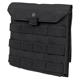 SIDE PLATE POUCH - BLACK
