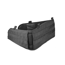 MOLLE BATTLE BELT - BLACK