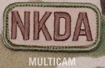 NKDA PATCH - MULTICAM