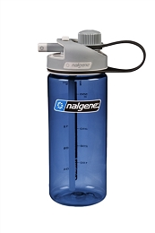 NALGENE 20 OZ MULTIDRINK WATER BOTTLE - BLUE