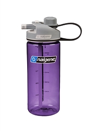 NALGENE 20 OZ MULTIDRINK WATER BOTTLE - PURPLE