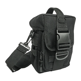 MOLLE BAG, BLACK - PATHFINDER