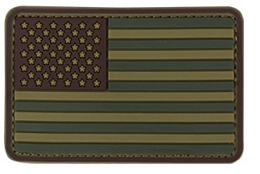 PVC US FLAG PATCH - MULTICAM