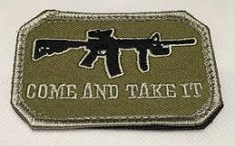 COME AND TAKE IT MORALE PATCH - DESERT