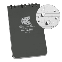 ALL WEATHER TOP SPIRAL NOTEBOOK - 3