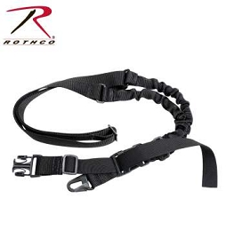 TACTICAL SINGLE POINT SLING - BLACK