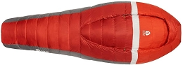 BACKCOUNTRY BED SLEEPING BAG, 28 (-2 C) DEGREES - LONG - RED