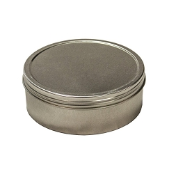 12 OZ ROUND STEEL CONTAINER, SCREW TOP - PATHFINDER