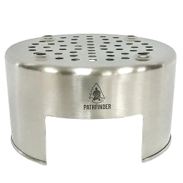 STAINLESS STEEL BUSH POT STOVE - PATHFINDER