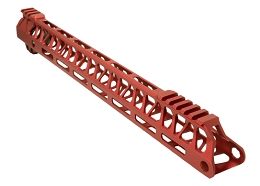ULTRALIGHT ENFORCER 15'' HANDGUARD - M-LOK - RED