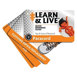 LEARN & LIVE CARDS - TIPS & USES OF PARACORD