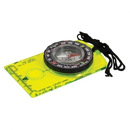 HI VIS DELUXE MAP COMPASS