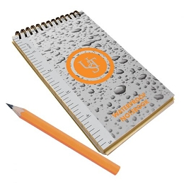 WATERPROOF NOTEBOOK 3 X 5