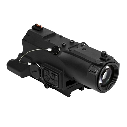 ECO MOD 2 4X34 SCOPE W. GREEN LASER / RED & WHITE LED NAVIGATION LIGHTS - P4 SNIPER