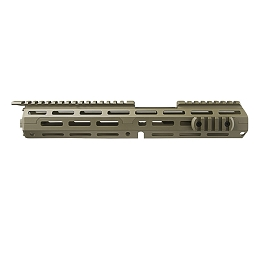AR-15 EXTENDED CARBINE-LENGTH M-LOK HANDGUARD - FLAT DARK EARTH / TAN