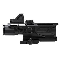 ULTIMATE SIGHTING SYSTEM GEN III - MK III TACTICAL 3-9x40 P4 SNIPER SCOPE WITH MICRO RED DOT SIGHT
