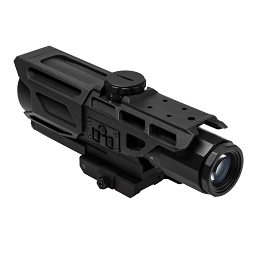 MARK III TACTICAL GEN III 3-9x40 SCOPE - BLUE & RED ILLUMINATED P4 SNIPER RETICLE (5.56 BDC)