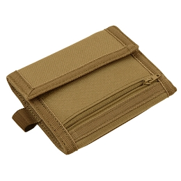VAULT TRI-FOLD WALLET - COYOTE BROWN