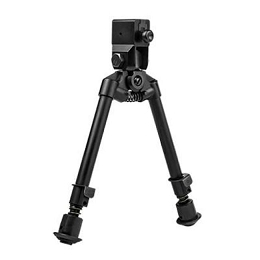 AR-15 BIPOD, NOTCHED LEGS - BAYONET LUG QUICK RELEASE MOUNT