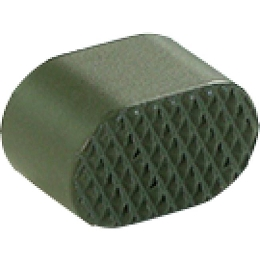 AR ALUMINUM MAGAZINE RELEASE BUTTON - OD GREEN