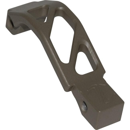 AR ALUMINUM OVERSIZED TRIGGER GUARD - FLAT DARK EARTH