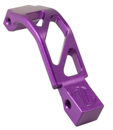 AR ALUMINUM OVERSIZED TRIGGER GUARD - PURPLE
