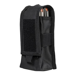 AR DOUBLE MAG OR RADIO POUCH - BLACK
