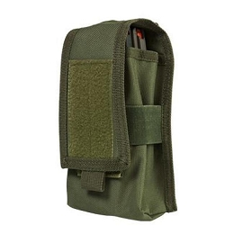 AR DOUBLE MAG OR RADIO POUCH - GREEN