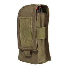 AR DOUBLE MAG OR RADIO POUCH - TAN