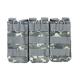 AR TRIPLE MAGAZINE POUCH - DIGITAL CAMO