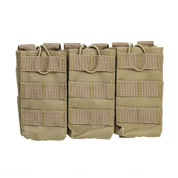 AR TRIPLE MAGAZINE POUCH - TAN