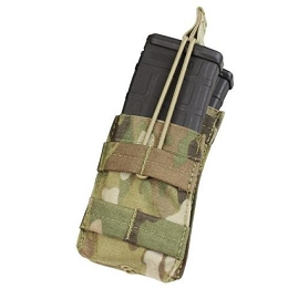 AR/M4 SINGLE OPEN-TOP STACKER MAG POUCH - MULTICAM
