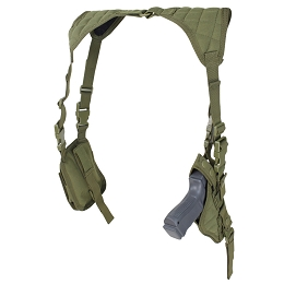 VERTICAL SHOULDER HOLSTER - OLIVE DRAB