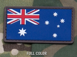 AUSTRALIAN FLAG PVC PATCH - FULL COLOUR