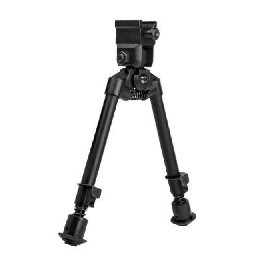 BIPOD, NOTCHED LEGS - SWIVEL - QUICK RELEASE WEAVER MOUNT
