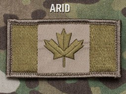 CANADIAN FLAG PATCH - ARID