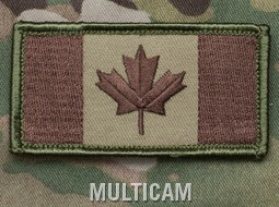 CANADIAN FLAG PATCH - MULTICAM