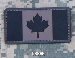 CANADIAN FLAG PVC PATCH - URBAN