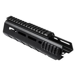 AR-15 CARBINE-LENGTH TRIANGLE M-LOK HANDGUARD - BLACK ALUMINUM