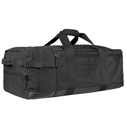 COLOSSUS DUFFLE BAG - BLACK