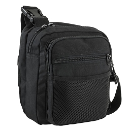 CONCEALED CARRY (CCW) SATCHEL - BLACK