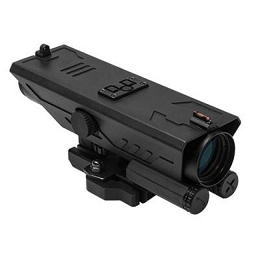 DELTA 4X30 SCOPE WITH RED & WHITE LED NAVIGATION LIGHTS - P4 SNIPER