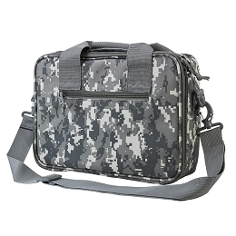 DELUXE DOUBLE PISTOL CASE - DIGITAL CAMO