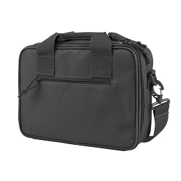 DELUXE DOUBLE PISTOL CASE - URBAN GRAY