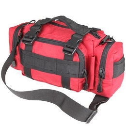 DEPLOYMENT BAG - RED / BLACK